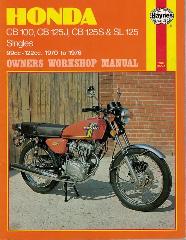Haynes Honda 125cc Models Workshop Manual: Honda Tl125 Wiring Diagram At Outingpk.com
