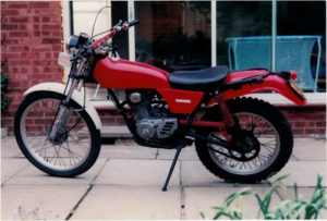 Unrestored TL125 bought in 1991